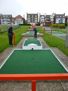 Arnold Palmer Putting Course in Skegness