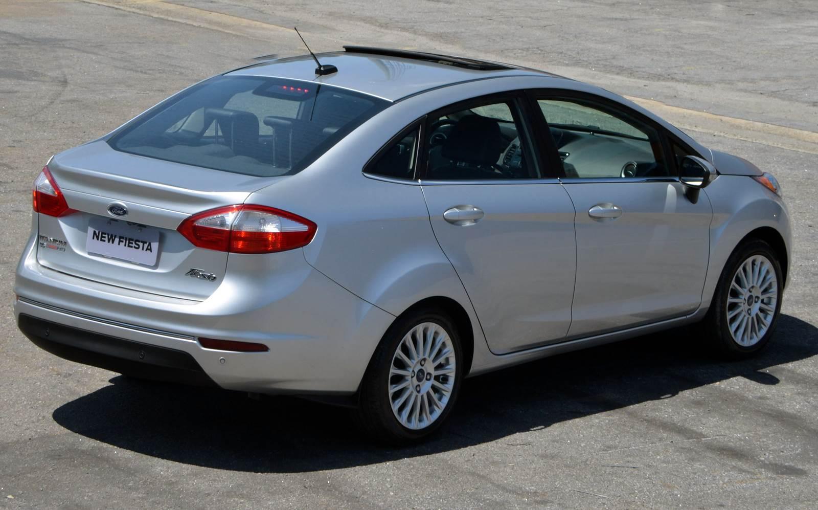 Ford New Fiesta Sedan Titanium Plus 2015