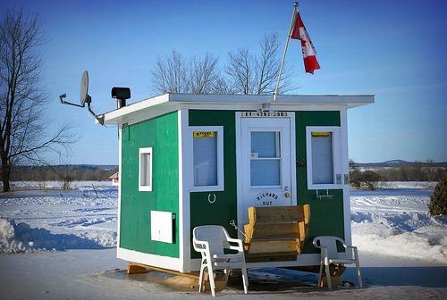Ice Fishing Shack Building Plans