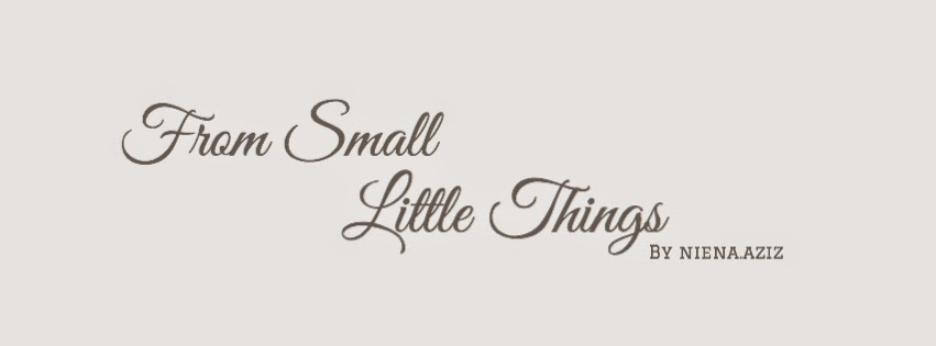 From Small Little Things