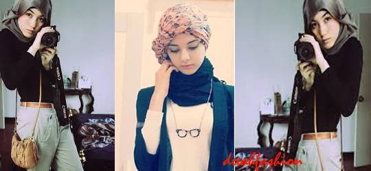 Jilbab Ngetrend 2014 (Hijab Chic Look)