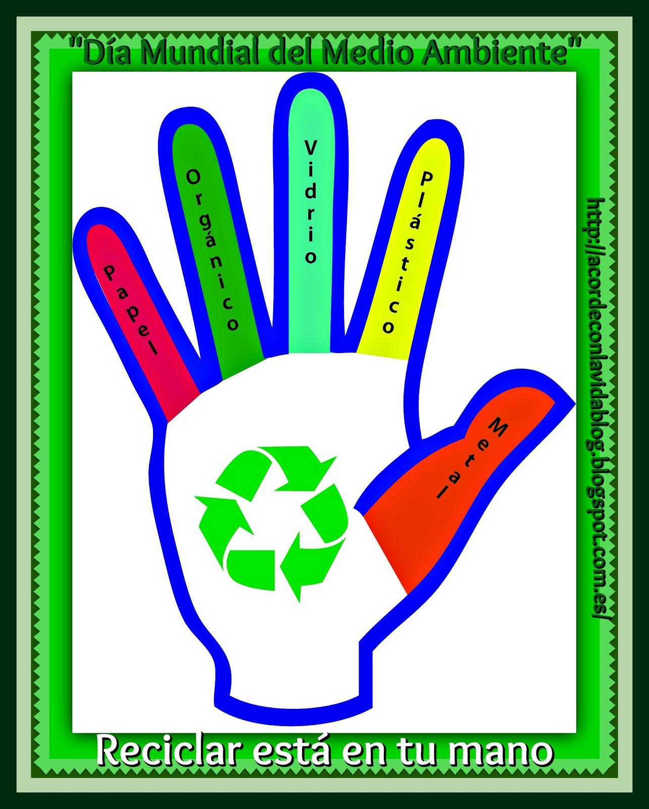 * Reciclar Está En Tu Mano*