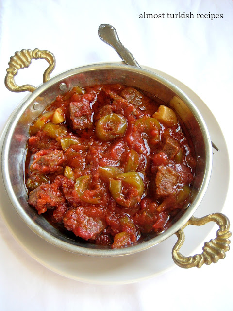 Beef Stew With Tart Green Plums