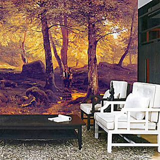 Photo murals to decorate