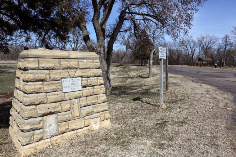 A little history on Fort Zarah, Allison Ranche and the town of Zarah - Barton County, Kansas