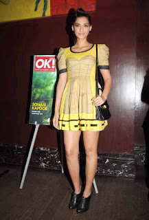 Sonam Kapoor at OK! magazine's cover launch Sonam+Kapoor+at+OK!+magazine%27s+cover+launch