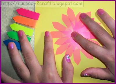 easy dollar store preschool flower craft