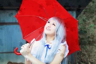 Rei cosplay as Honma Meiko from Ano Hana