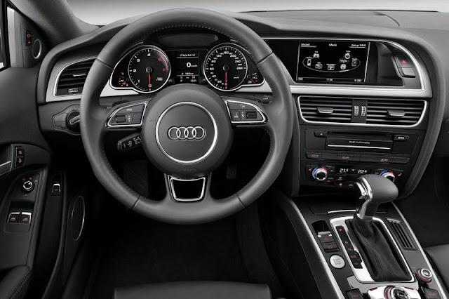 2012 Audi A5 Coupe Interior Entertainment