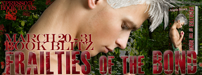 Book Blitz: Frailties of the Bond by Amando brown + giveaway