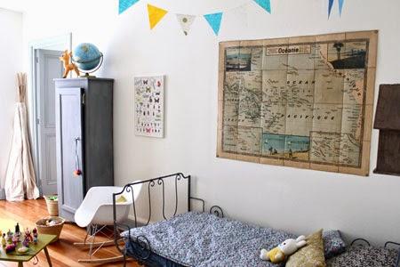 Deco decopedia 4 decoraci n infantil de estilo vintage for Habitaciones para ninas estilo vintage