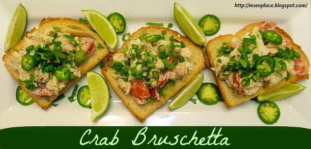 Crab Bruschetta | Ms. enPlace