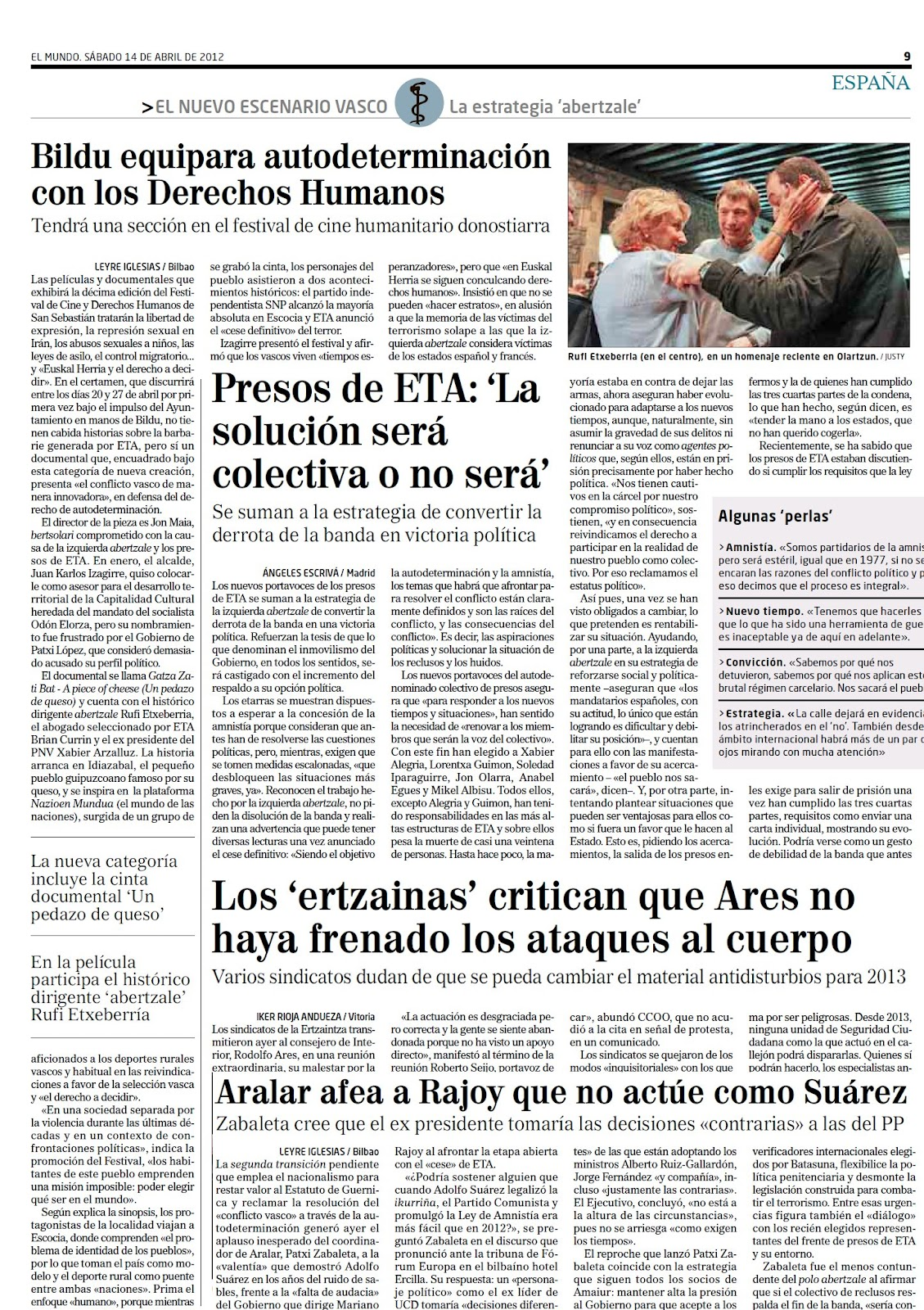 Los socialistas ya tienen nuevo lema: Antes morir que permitir al PP salvar a España de la ruina en que la dejamos