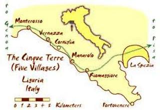 italie cinque terre