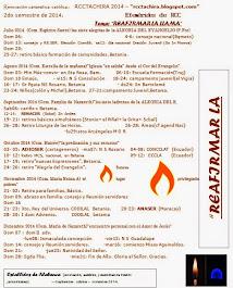 Efemérides  de  RCCTACHIRA 2do Semestre