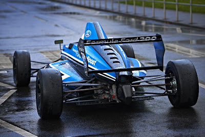 New Formula Ford 200 Rear View
