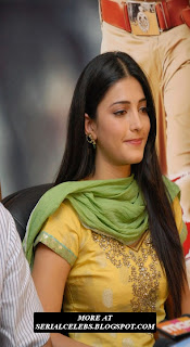 Shruti Hassan in tight chudidar