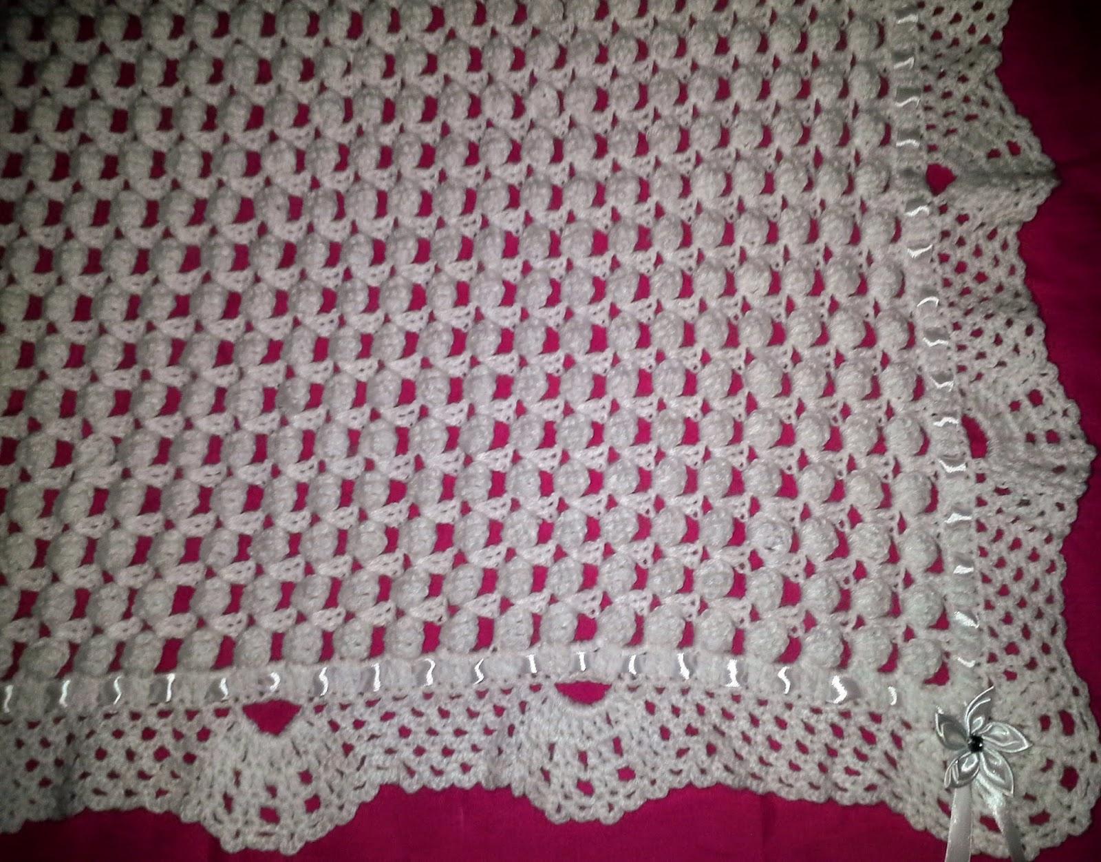 couvre lit crochet pour bébé Melissa Melina Crochet: Superbe couverture pour bébé au crochet couvre lit crochet pour bébé