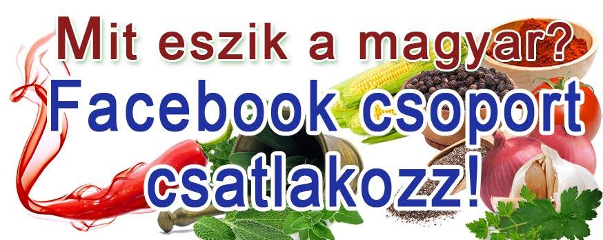 Mit eszik a magyar? -Facebook csoport
