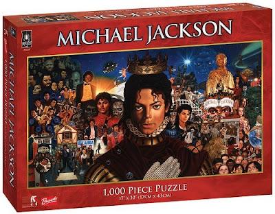 Puzzles de Michael Jackson- novos lançamentos Puzzlemichael