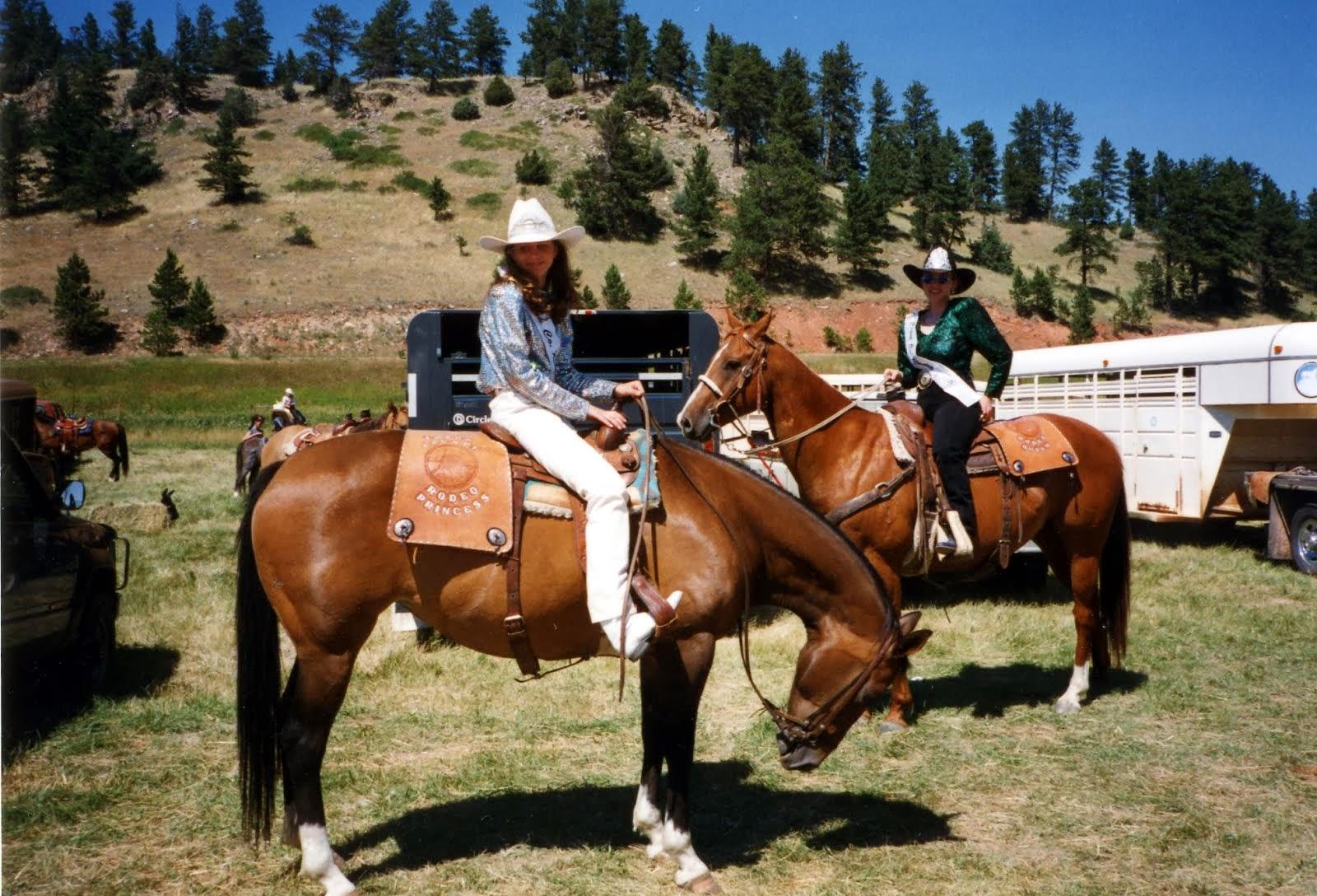 Portrét na koni