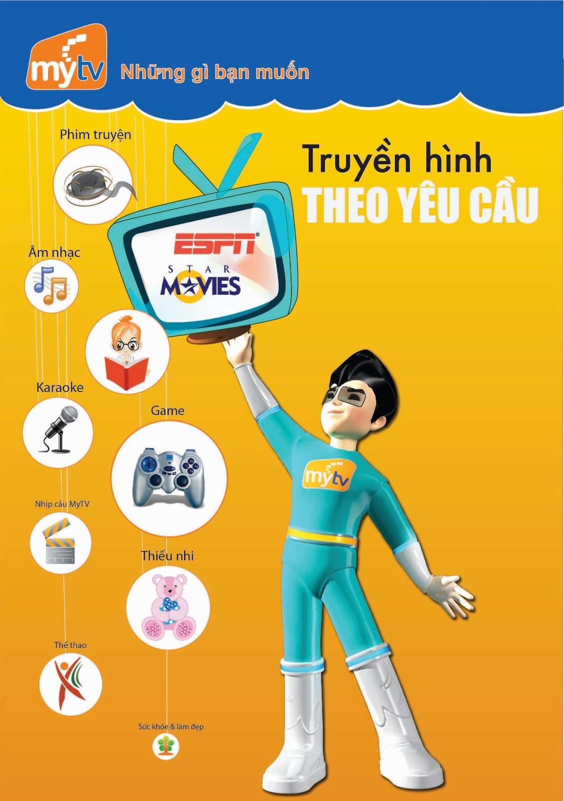 Khuyến mãi đăng ký MyTV