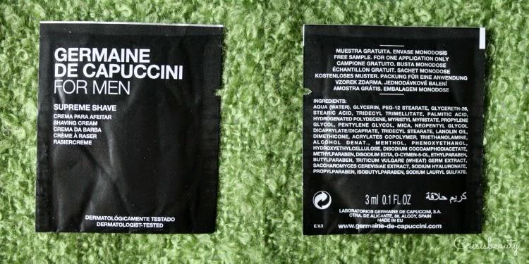 Línea masculina Germaine de Capuccini