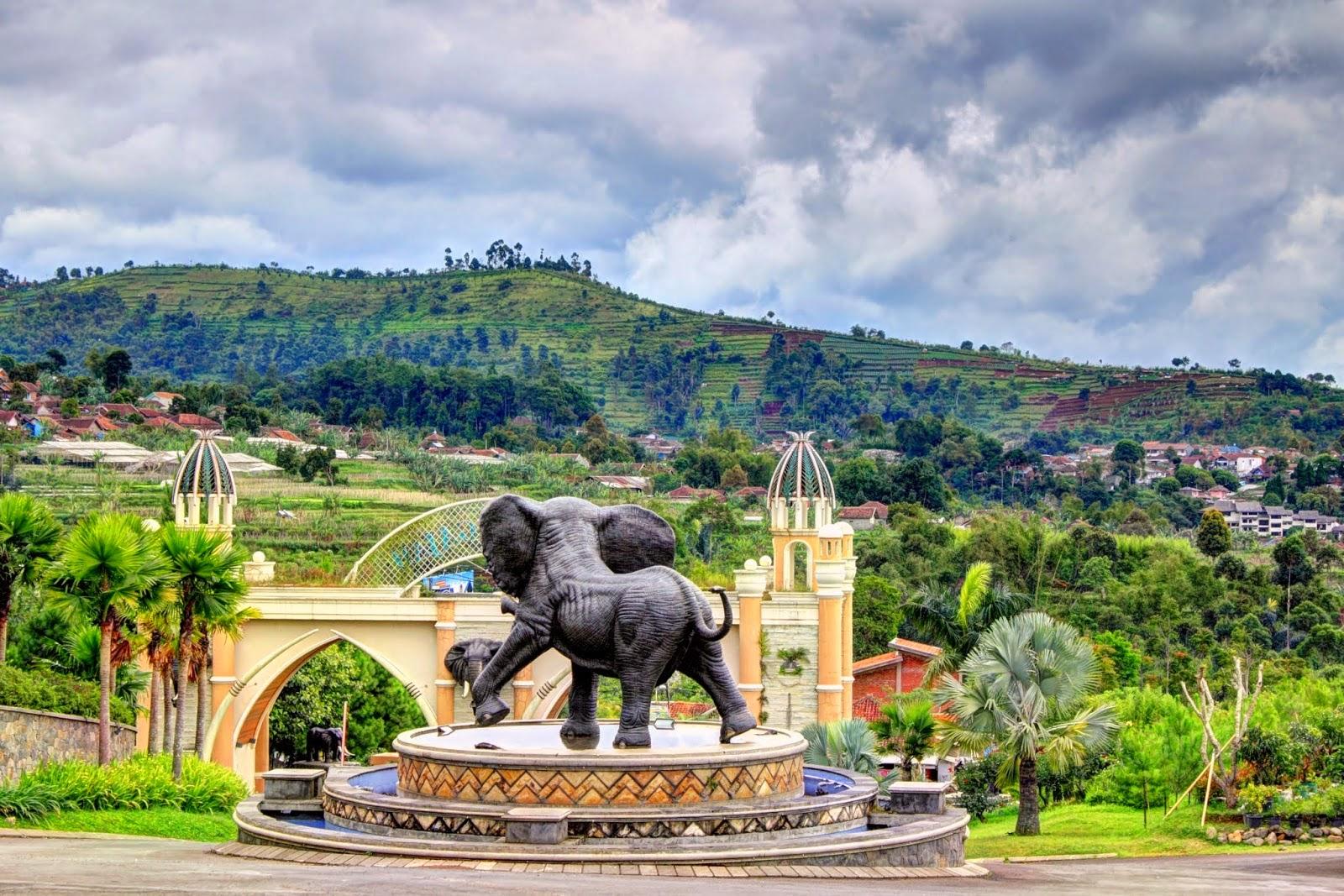 Review Wisata Kampung Gajah Di Bandung