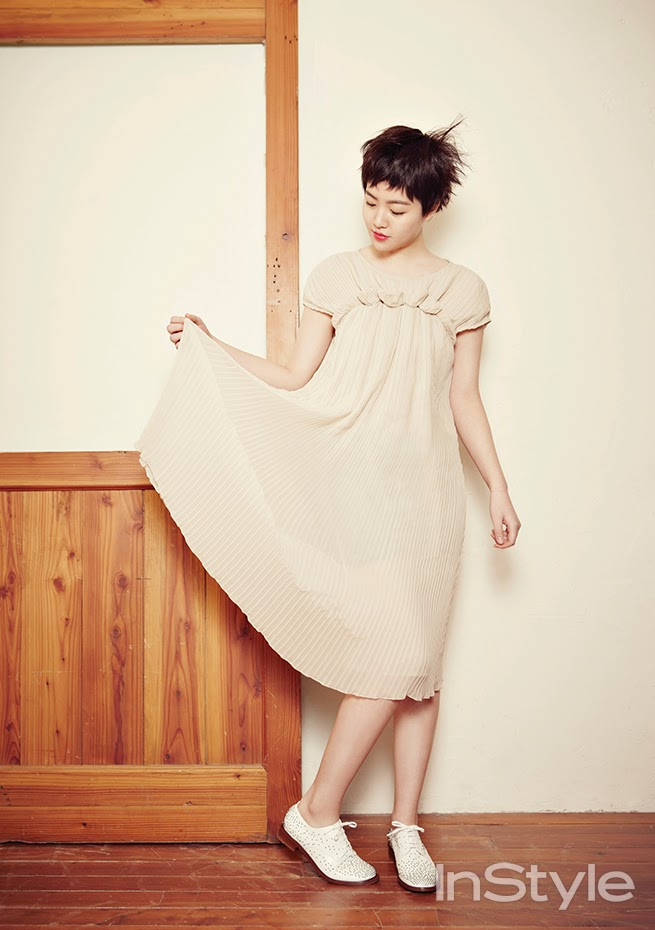 Shim Eun Kyung - InStyle Magazine February Issue 2014