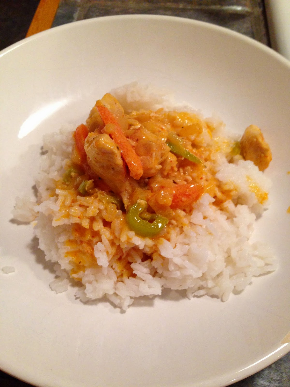 Quest for Delish: Panang Curry with Chicken