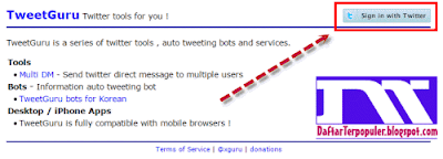 cara mengirim pesan di twitter
