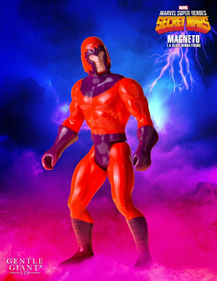 "Marvel's Secret Wars Magneto 12"" Jumbo Vintage Action Figure by Gentle Giant"