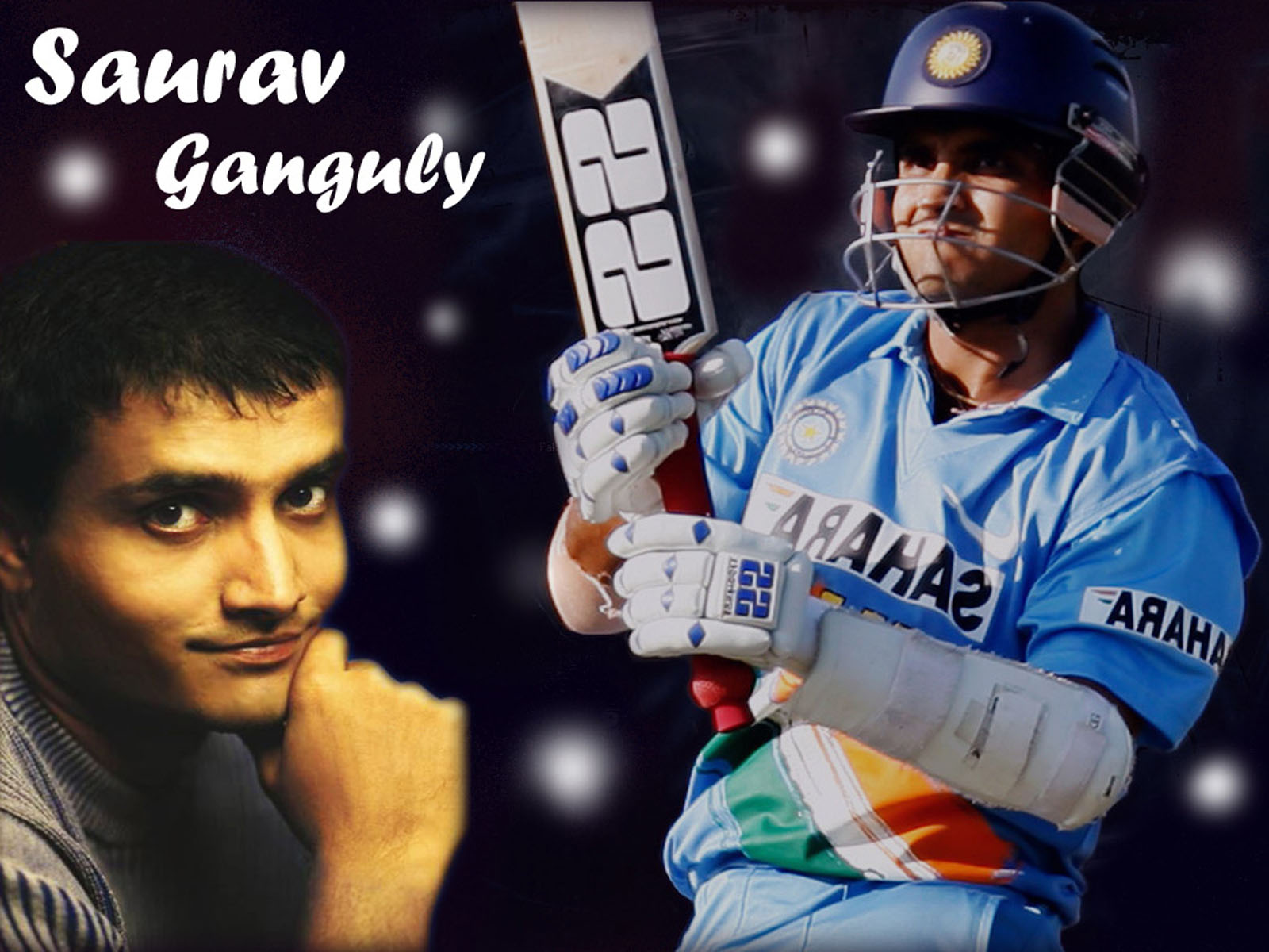 sourav ganguly Sourav chandidas ganguly ( pronunciation (hel p inf o) born 8 july 1972), affectionately known as dada (meaning elder brother in bengali), is a former indian cricketer and captain of the indian national team, currently, he is appointed as the president of the cricket association of bengal and president of the editorial board with wisden india.