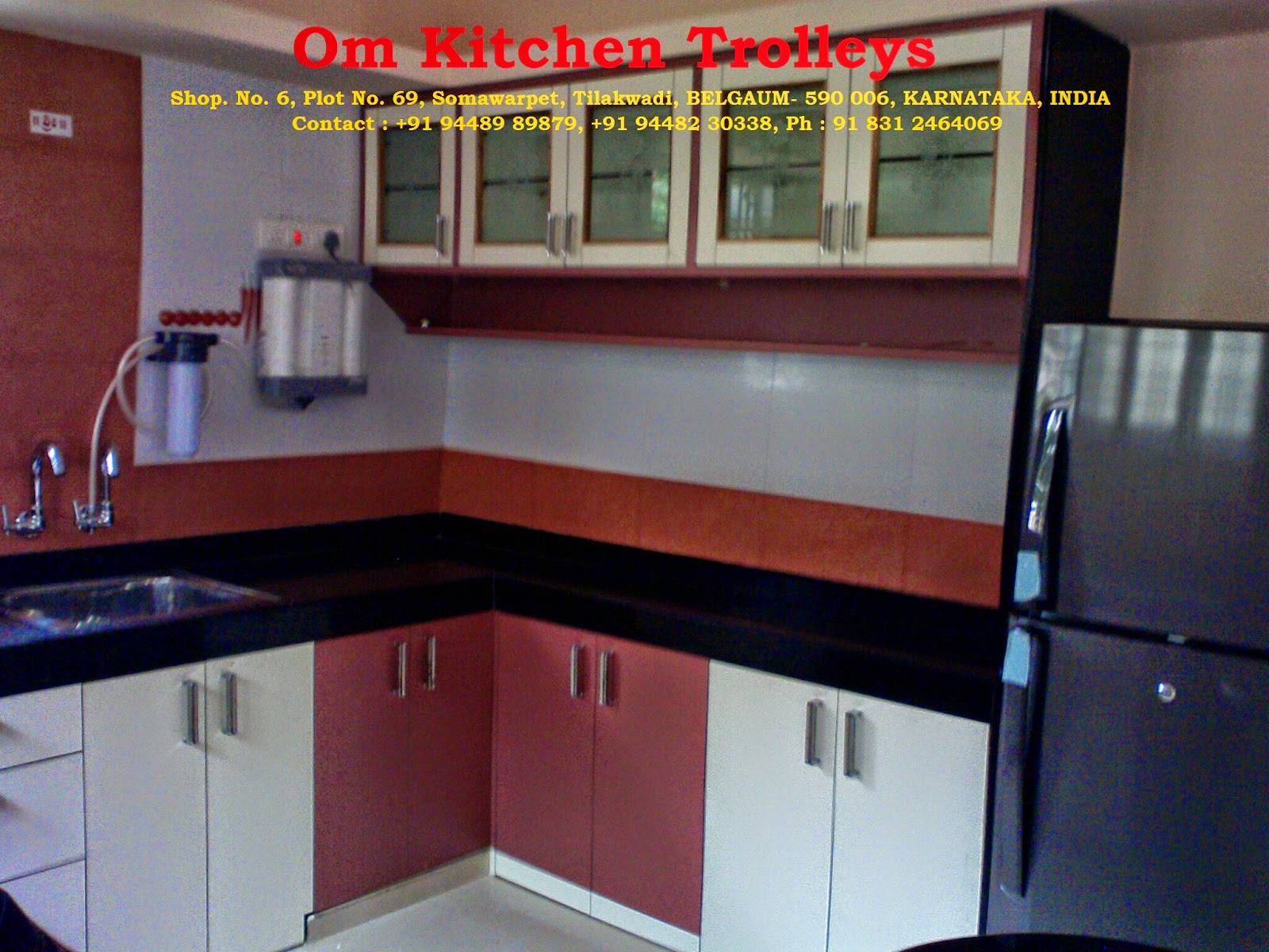 Om kitchen trolleys for Kitchen trolley designs images