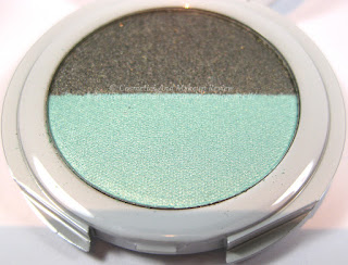 Labo Make-Up - Pure Flower Compact Eye-shadow Duo n.03 Olive green/Aqua green - cialda