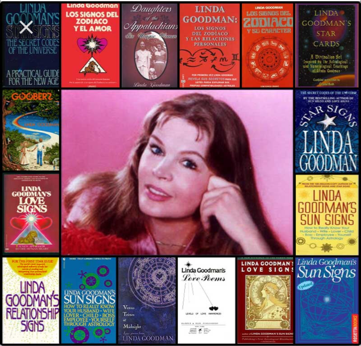 Linda Goodman and some of her books