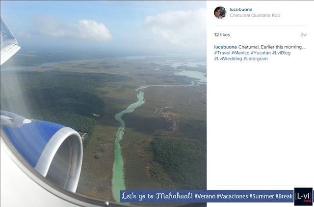 Arriving to Chetumal - LuceBuona on Instagram L-vi.com