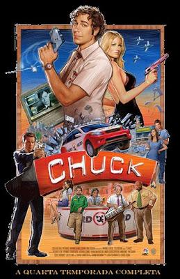 Chuck - 4ª Temporada Completa - HDTV Legendado