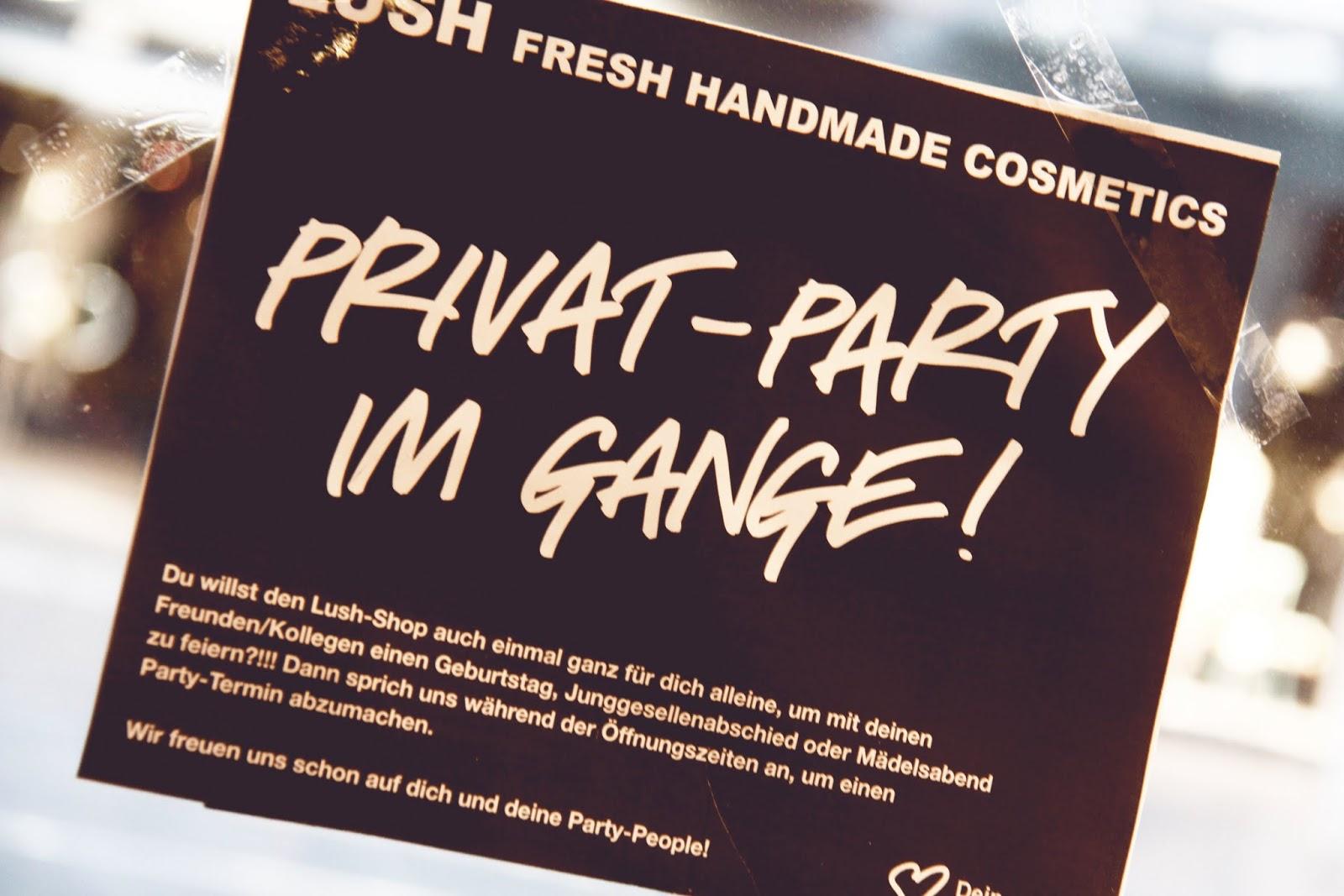 Lush Beauty School in Karlsruhe