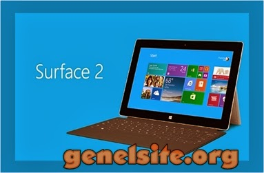 Microsoft surface2 tablet