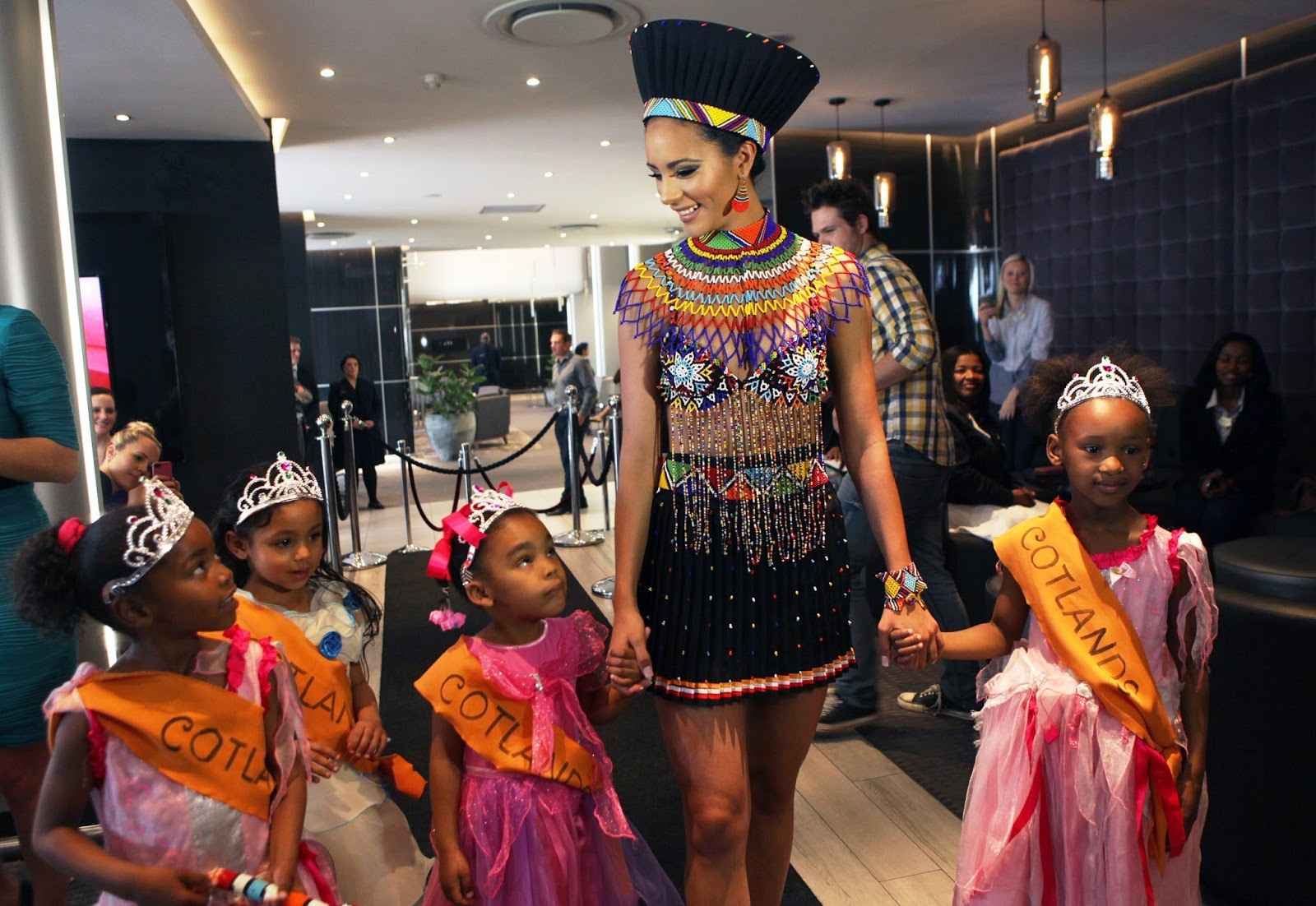 Miss South Africa, Marilyn Ramos rocking her African traditional ...