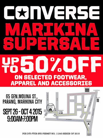converse at outlet mall dkf5  Converse Marikina Warehouse SuperSALE: October 2015