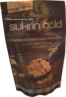 Sukrin Gold stevia brown sugar