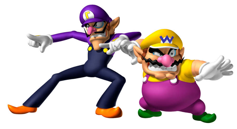 10 wario and waluigi little is known about the evilWario And Waluigi Wallpaper