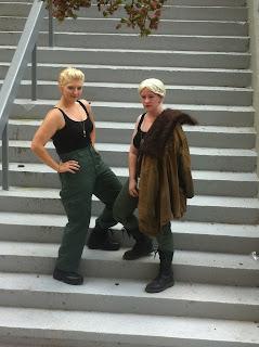 two women dressed as Sasha Kaidonovsky
