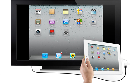 Connect Apple iPad to your HDTV