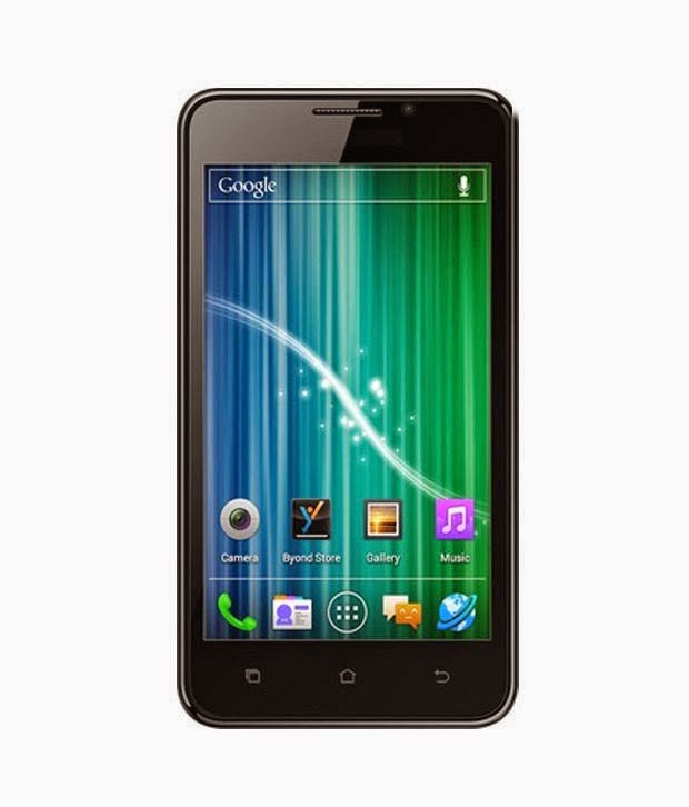 Snapdeal: buy Byond B66 Mobile (1.2 GHz, Dual Core) at Rs.4299