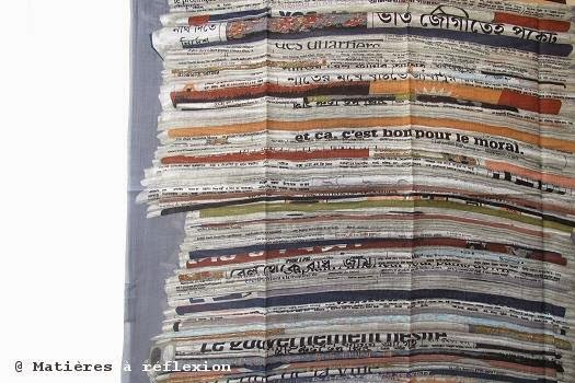 Foulard newspaper de Mii