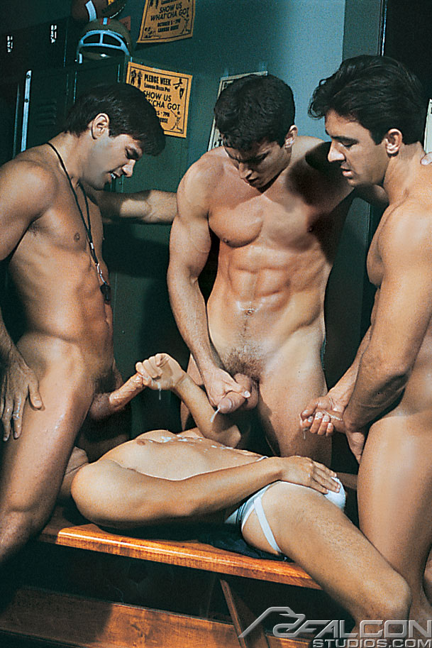 gay shower and locker room porn