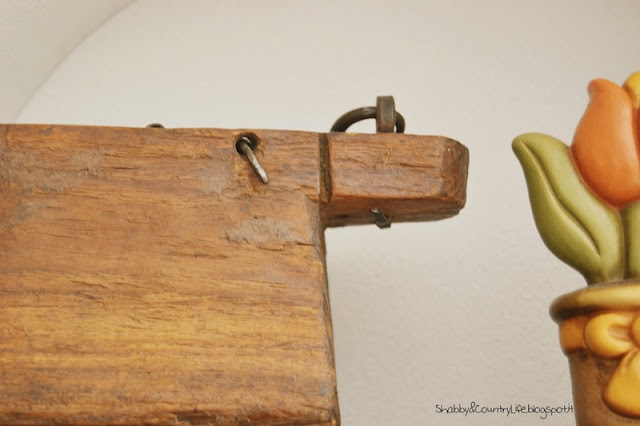 Kitchen hood decor -shabby&CountryLife.blogspot.it